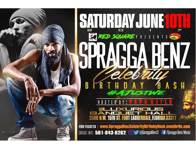 SPRAGGA BDAY EVENT
