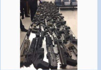 JA illegal gun shipment probe…