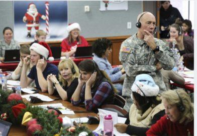 NORAD tracks Santa…